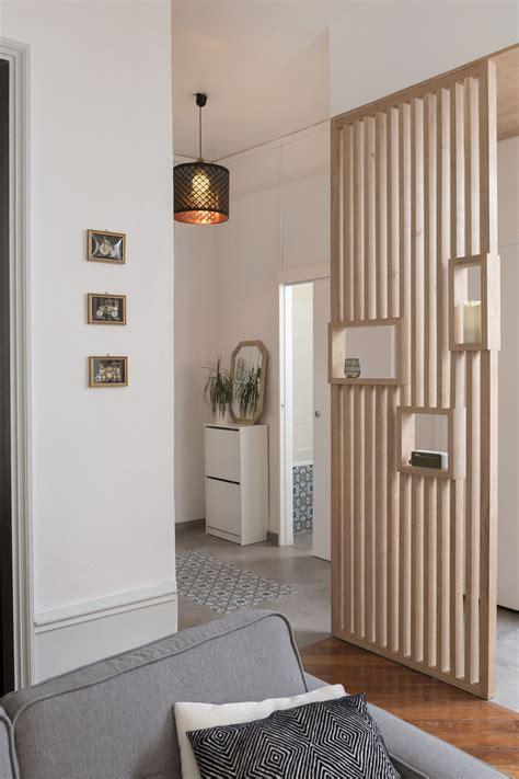une cuisine ouverte dans  appartement lyonnais deco