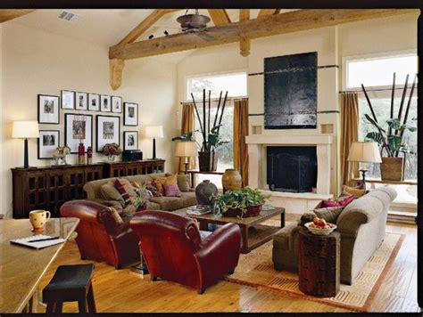 southern living idea home tropical family room by authentic pine floors inc