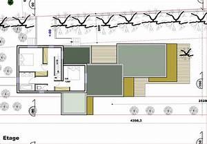 plan maison terrain en pente exemple de plan le choix With plan maison terrain en longueur
