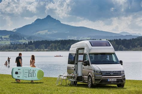 volkswagen california volkswagen california xxl boasts panoramic roof for