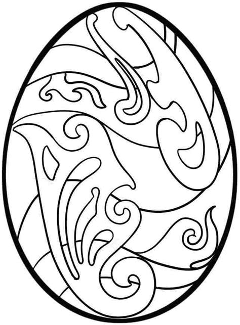 Coloring Easter Eggs by Easter Egg Coloring Pages