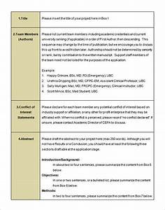 Format Of A Research Proposal With Examples Personal Development