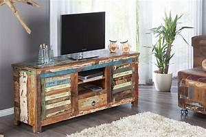 Tv Board Holz Massiv : tv board jakarta 150cm recyceltes massiv holz unikat riess ~ Bigdaddyawards.com Haus und Dekorationen