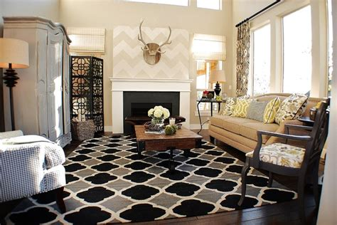 Candice Olson Living Room Images by Rustic Chic Living Room