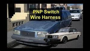 How To Fix The Plug End On A New Pnp Switch Wire Harness Repair For Volvo 940  740  240  Etc