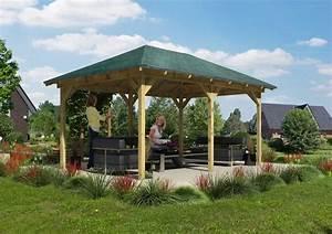 Pavillon Holz 4x4 : holzpavillon mailand 289 x 429 cm kaufen otto ~ Whattoseeinmadrid.com Haus und Dekorationen