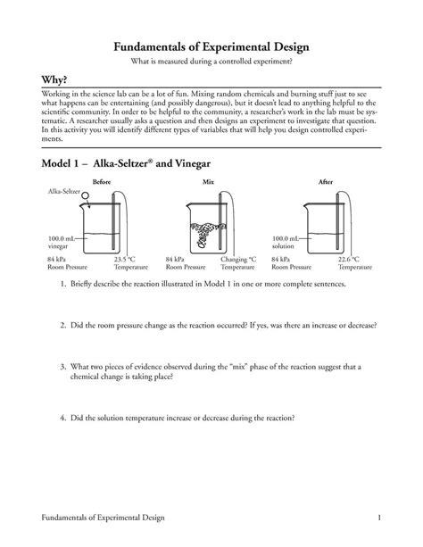 Worksheet Experimental Design Worksheet Scientific Method Answer Key Hunterhq Free Printables