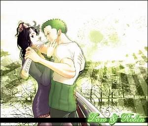 Zoro and Robin by Lemonthii on DeviantArt
