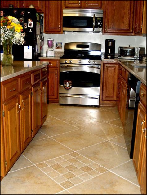 Kitchen Floor Tile For Nice Kitchen  Designoursign
