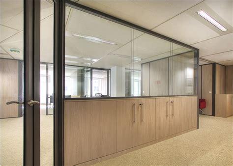 cloison amovible bureau pas cher cloison de bureau vitr 233 e maison travaux