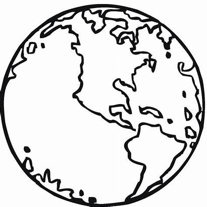 Earth Coloring Pages Printable Globe