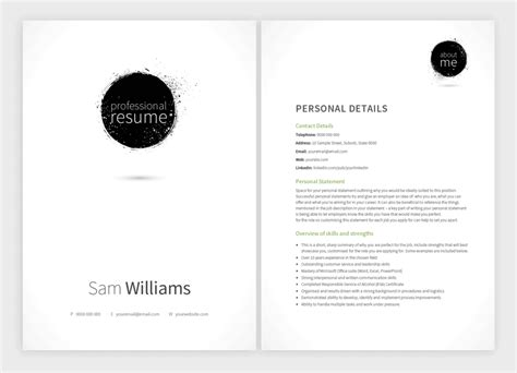 Matching Cover Letter And Resume Templates by 8 New Resume Templates With Matching Cover Letters Resume