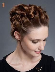 Coiffure Simple Femme : coiffure haute simple coiffure simple et facile ~ Melissatoandfro.com Idées de Décoration