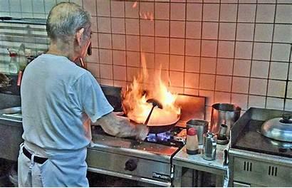 Kitchen Town Action Fire Chef Wok Kin