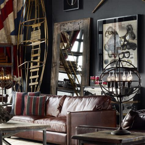 Timothy Oulton Axel Mirror   Industrial   other metro   by