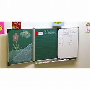 Tableau Mural Craie : mon tableau d 39 cole la maison 60 x 100 cm mix achat vente tableau enfant cdiscount ~ Teatrodelosmanantiales.com Idées de Décoration