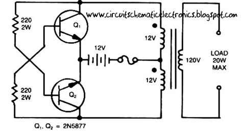 Simple Inverter Circuit From