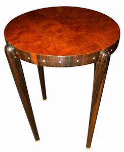 Ruhlmann style Custom Art Deco Side table