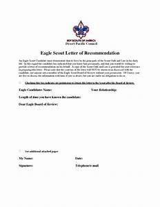 eagle scout recommendation letter sample eagle scout With letter of recommendation for eagle scout template