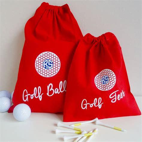 personalised golf ball bag  frozen fire notonthehighstreetcom