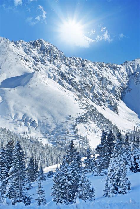 foto de Paysage Alpin D'hiver Photo Gratuite