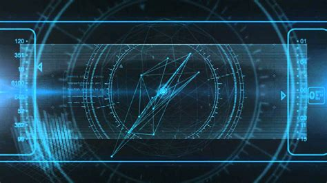High Tech Animated Wallpaper - hologram high tech logo opener pcgens studio