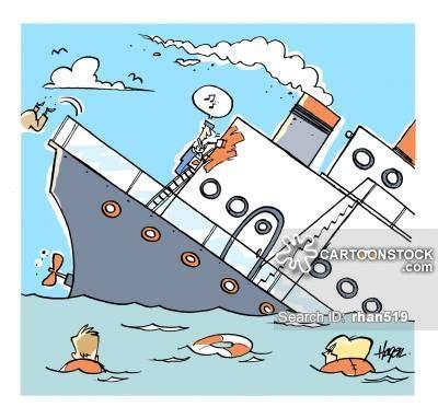 Cartoon Boat Sinking by Cartoon Cruise Ship Sinking Www Pixshark Images