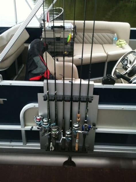 Fishing Rod Holders For A Pontoon Boat by Fishing Rod Holder Pontoon Boat Railing By Stubb111