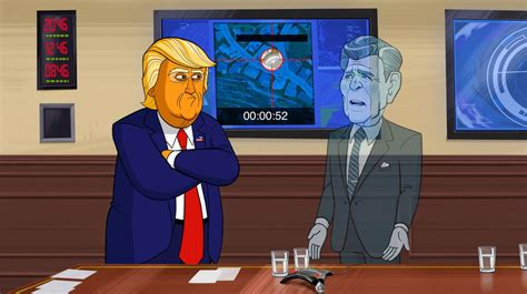 'our Cartoon President Returns On Showtime Broadcasting