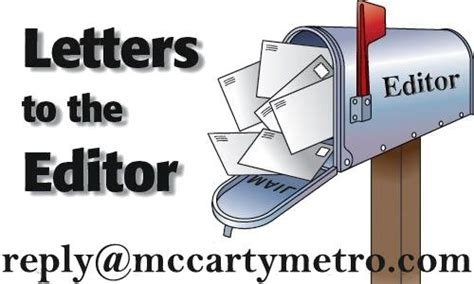 letter to the editor baines on political correctness the mccarty metro dateline news 29436