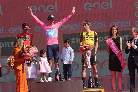 También todos los resultados de cada etapa, por equipos y en la montaña de la edición actual. 102° Giro de Italia: Así quedó la clasificación general final - Ciclismo Internacional