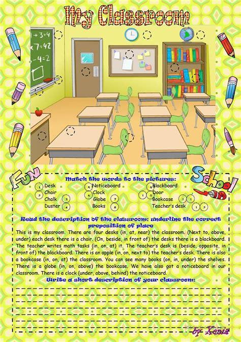 classroom worksheet  esl printable worksheets