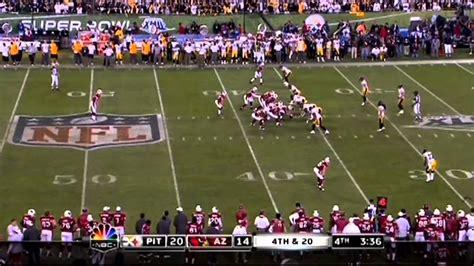 Super Bowl Xliii 43 4th Quarter Youtube