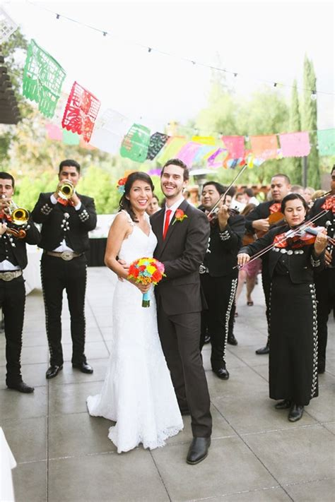 fiesta mexican themed wedding inspiration  lovely