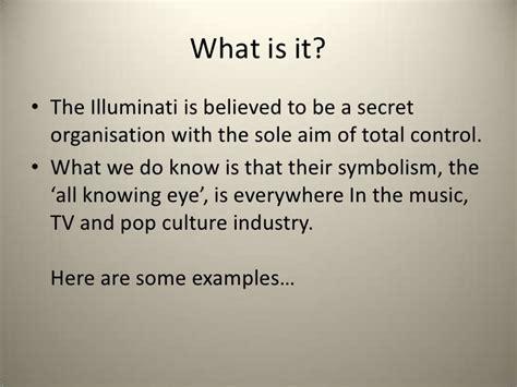 what is the illuminati illuminati presentation