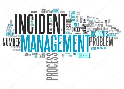 wordcloud incident management stockfoto  mindscanner