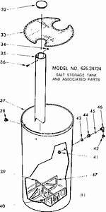 Kenmore Model 62534724 Water Softener Genuine Parts