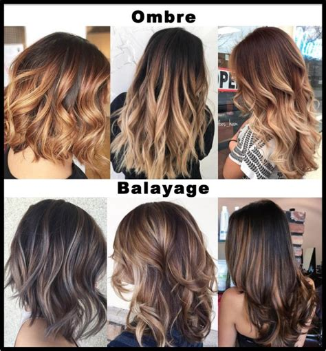 What Is The Difference Between And Brown Hair by Balayage Ombre Hair Colour Hair Salon Bishop S Stortford