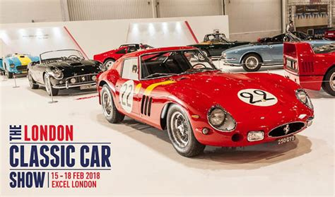 Ticket For London Classic Car Show, 16–18 February 2018 At