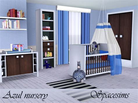 Spacesims' Azul Nursery