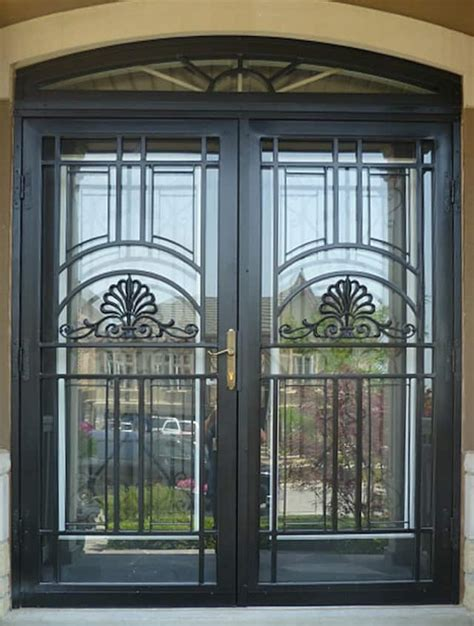 chicago custom steel security storm doors installation