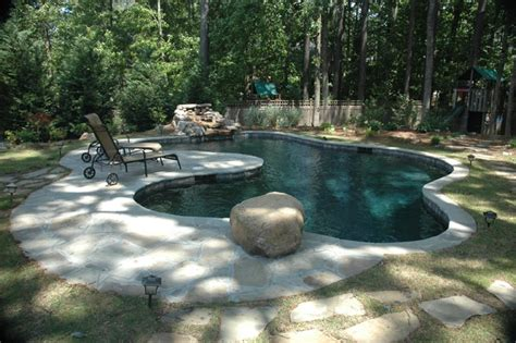 The Customer Wanted A Pool That Looks Like A Pond