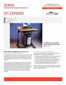 Efi Exp6000 Manuals