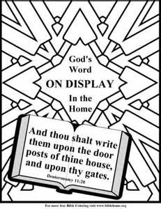 Adult Christian Bible Verse Coloring Pages
