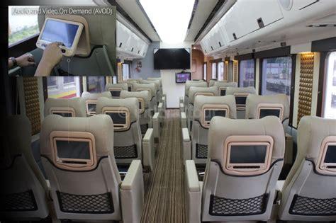 foto interior kereta kereta indonesia  mirip cabin
