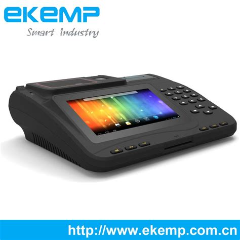 android machine ekemp android card swipe machine with thermal printer