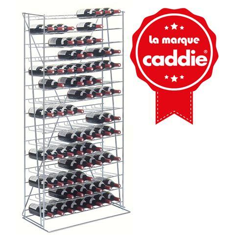 store meuble cuisine casier à 120 bouteilles caddie