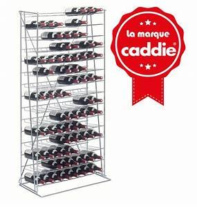 Casier à Bouteilles : casier 120 bouteilles caddie ~ Teatrodelosmanantiales.com Idées de Décoration