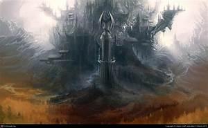 Fantasy Mountain Fortress