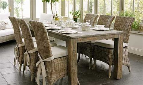 30155 rattan dining table ideal 1000 ideas about wicker dining chairs on